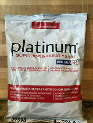 40 Cases 400 Lbs Saf Platinum Superior Instant Baking Yeast 800/8oz Packages
