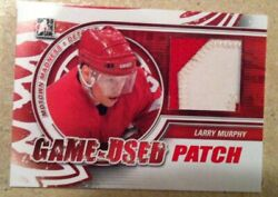 12/13 Itg Motown Madness Game Used Patch Red M22 Larry Murphy /9
