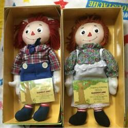 Raggedy Anne And Andy Limited 2000 Doll Figure From Japan Fedex