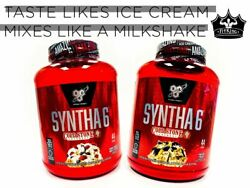 Bsn Syntha-6 Cold Stone Creamery Protein 4.56 Lbs 44 Servings Pick Flavor