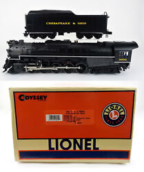 Lionel O Scale 28079 Chesapeake And Ohio T-4 2-10-4 Steam Engine And Tender 3004