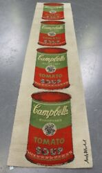 Andy Warhol Genuine Ltd Edition Campbell's Tomato Soup By Ege, Denmark