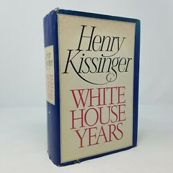 Signed White House Years By Henry Kissinger 1979 With 1980 Speech Program
