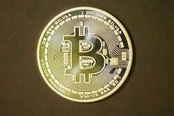Bitcoin Pure Silver 1 Troy Ounce Round 31.1 Grams 999 Pure