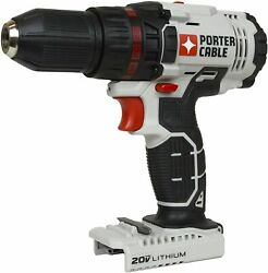 Porter Cable Pcc601 Max 20 Volt Lithium Ion Cordless 1/2 Drill Driver Tool Only