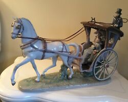 Lladro Porcelain Figurine A Day With Mom Retired In 2002. Hard To Find