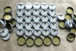 100 Fat Heads Brewery Violet White Beer Bottle Caps No Dents Free Shipg C Store