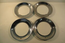 15 Beauty Rings Hubcaps 1940's 1950's Chevy Ford Buick Chrysler Mopar Accessory