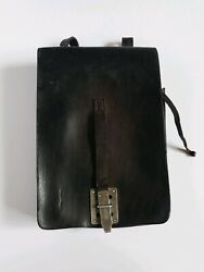 Vintage Wwii Leather Map Holder Franze Brehme Walsrode 1936