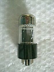 1 X Nos 12sn7gt Westinghouse Twin Triode - Chrome Dome Gray Plate - 539c Tested