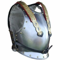 Medieval Knight Cuirass Of The French Cuirassiers Stainless Steel