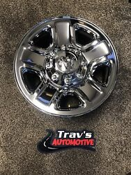 18 Dodge Ram 2500/3500 Wheel Assembly Chrome 1ud26sz0aa Center Cap Included