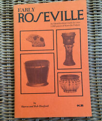 Early Roseville Pottery Identification Guide Isbn 0891450343