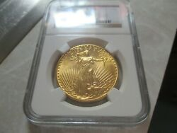 1924 St. Gaudens 20 Gold Double Eagle Ngc Ms64 Beautiful Coin Rare