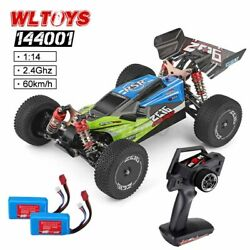 Wltoys 144001 1/14 60km/h Rc Car 2.4ghz 4wd Racing Off-road Rc Car Rtr Gift Us