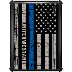 Otterbox Defender For Ipad Pro / Air / Mini - Thin Blue Line Us United Stand