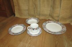 Vitromaster Stoneware Tapestry Replacement Plate Bowl Coffee Cup Saucer 1248
