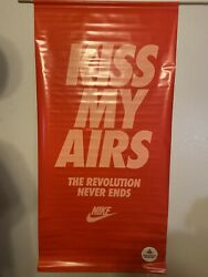 """Foot Locker Air Max 1 """"kiss My Airs"""" Giant Poster 67x34 Revolution Never Ends"""