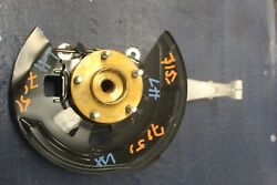 2017 Nissan 370z Nismo Edition Vq37 3.7l Oem Lh Driver Front Spindle And Hub 7151