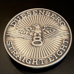 Duesenberg Model A Wheel Emblem Nos