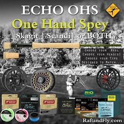 Echo Ohs 6wt 10and0394 Outfit - 3wt Trout Spey Skagit Sa Scandi Or Both