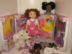 Fancy Nancy Doll Lot, Outfits In Boxes, Frenchy, Jakks Pacific, Plus Bree