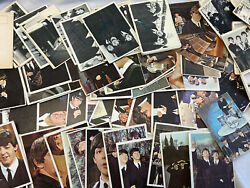 Vtg Lot Of Tops Beatles Black White Color Trading Cards Series 2 And 3 Incomplete