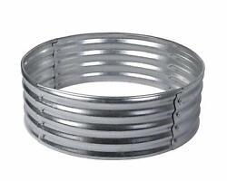 36 Galvanized Steel Wood Burning Fire Pit Ring Campfire Bonfire Outdoor Camping
