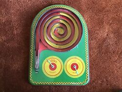 Brinkman 770 Whirl Game. Dayton Ohio. Hard To Find Tin Table Top Toy + Box.
