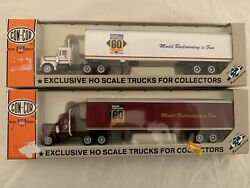Ho Con Cor 60 Years Tractor Trailer. Both Units Are New