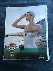 Rolex Print Advertising 21st Century Chronograph Oyster Perpetual Lady Datejust