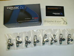Id1300 1300 Fuel Injectors Charger Challenger Srt8 Hellcat 6.2 Supercharged E85