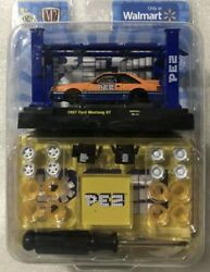 M2 Machines 1987 Ford Mustang Gt/pez Model Kit Chase 1 Of 750 Pieces Made