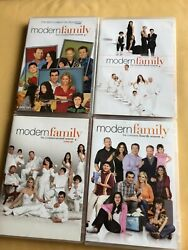 Modern Family Dvds Seasons 1 2 3 4 Excellent Condition