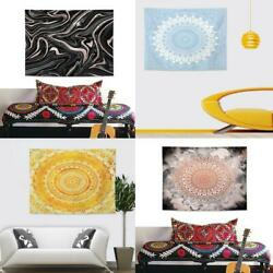 Black Tapestry Mandala Psychedelic Tapestry Hanging Wall Large Tapestries Tarot