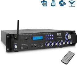 New Pyle 3000 Watt Home Stereo Receiver Amp Amplifier Am/fm Radio Aux-in Remote