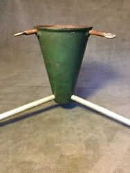 Mid Century Modern Cf Anderson Christmas Tree Stand Atomic Sputnik Space Age