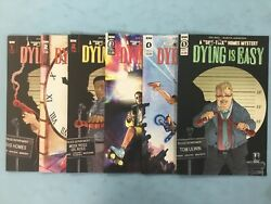 6x Dying Is Easy Comic 1 2 2 3 4 5 Joe Hill Stephen King Idw Variant A B