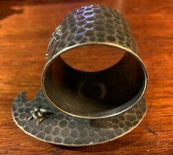 Antique Silver-plated Meriden B 239 Napkin Ring Holder - Late 1800s
