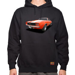 1969 Chevy Camaro Ss The Legend Classic Car- Menand039s/unisex Hoodie Made In Usa