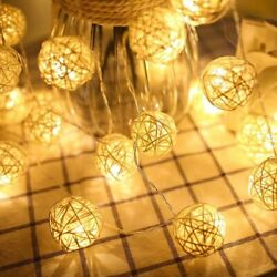 Indoor Outdoor Christmas Lights Home Decorations Multi-color Led Fairy Light New