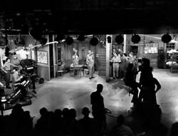Old Cbs Tv Photo Production Of The Comedy Program The Phil Silvers Show 1
