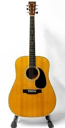 1984 Tokai Catand039s Eyes Tce-25 Acoustic Guitar With Hardshell Case - Natural