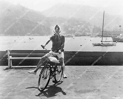 Crp-12457 1966 Doris Day On Her Bicycle Film The Glass Bottom Boat Crp-12457