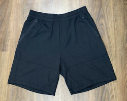 "Nike Tech Pack Knit Shorts ""Triple Black"" AR1582 010 Men's Size XL NWT"