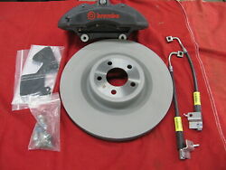 Oem New 2015-2017 Ford Racing Mustang Performance Pack Brembo Front Brake Kit