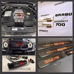 Brabus Style Set Full Of Emblems For Mercedes G Class W463a W464 G Wagon Door G