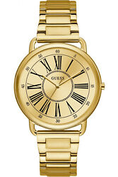 Watch Woman Guess Kennedy W1149l2 Of Stainless Steel Ba Ado Gold Coloured