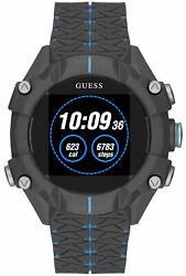 Watch Man Guess Watches Gents Connect C3001g3 Rubber, Black