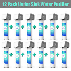 5 Stage Whole House Under Sink Counter Sediment Drinking Water Filter System